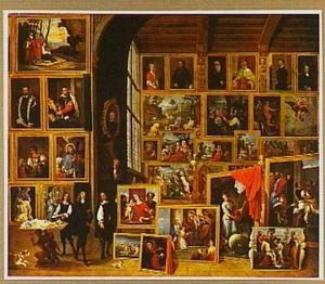 De schilderijenverzameling van Aartshertog Leopold Wilhelm (1614-1661