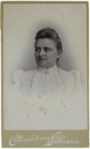 Portret van Cornelia Johanna Alphonse Mijsberg ( -1935)