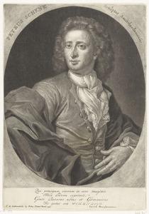 Zelfportret van Pieter Schenk (1660- ca.1711)