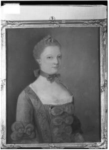 Portret van Elisabeth Fagel (1735-1759)