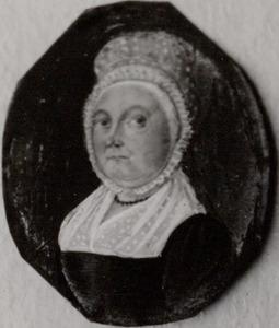 Portret van Anna Zaaijer (1782-1846)