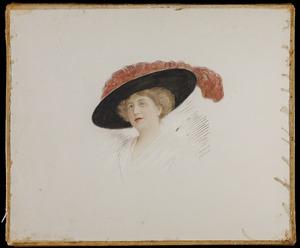 Portret van Anna Jacqueline Constance Jones (1862-1950)