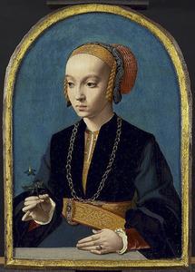 Portret van Elisabeth Bellinghausen (c. 1520-na 1570)