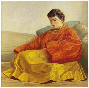 Portret van Nannette Salomonson (1925-....)