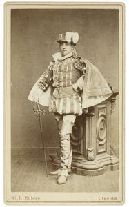 Portret van Gijsbert Carel Duco Reinout baron van Hardenbroek (1859-1941) als Baron van Liedekerke