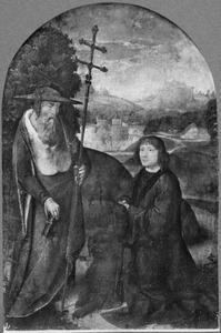 De H. Hieronymus met stichter