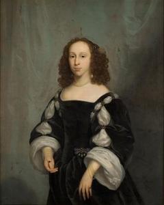 Portret van Cornelia Strick van Linschoten (1628-1703)