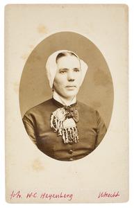 Portret van Jannigje de Gier (1854-1935)
