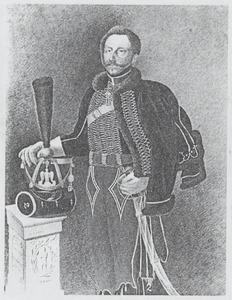 Portret van Paulus Cornelis de Bie