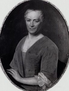 Portret van Anna Jacoba van Dam (?-1774)