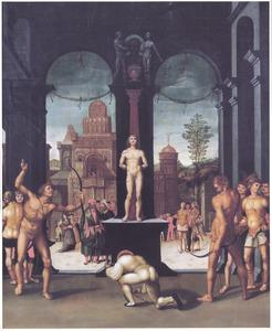 Het martyrium van de H. Sebastiaan