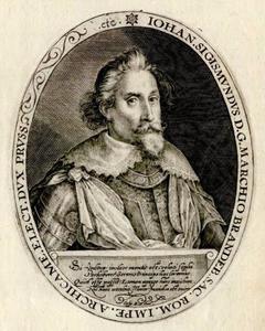 Portret van Johann Sigismund von Brandenburg (1572-1619)