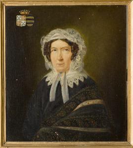 Portret van Henrietta Assuëra Charlotta Juliana Alexandrina barones van Pallandt (1773-1855)