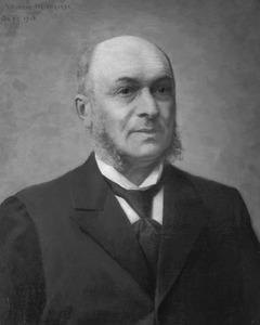 Portret van Ludovicus Antonius de Gruijter (1833-1911)