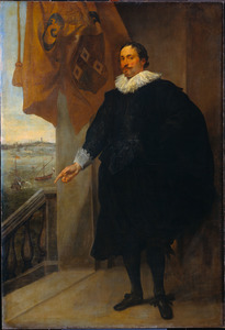 Portret van Nicolaes van der Borght (?-?)