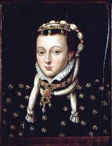 Portret van Anna van Egmond, gravin van Buren (1533-1558)