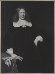 Portret van een man, 1660 of 1661