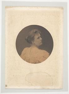 Portret van Agnes Henriette Labouchere (1873-1942)