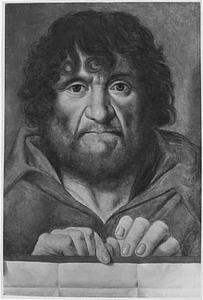 Portret (?) van een man