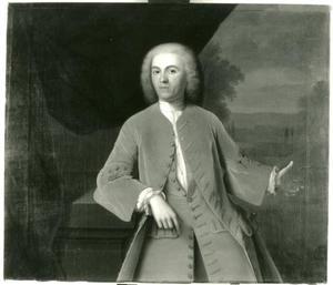 Portret van M. van Heloma