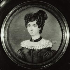 Portret van Catharina Maria Maclaine (1808-1838)