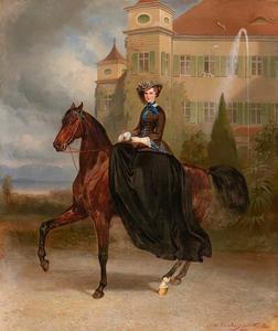 Elizabeth (Sisi) in Beieren voor Possenhofen