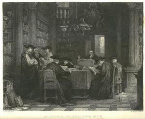 Interieur van het Jezuïetencollege te Rome