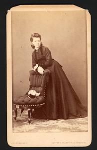 Portret van Françoise Catharina Wilhelmina van der Elst (1852- )