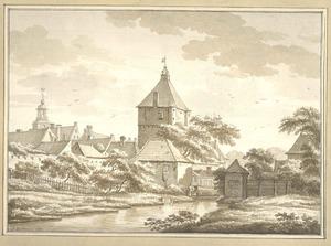 Zutphen, de Mastpoort anno 1785