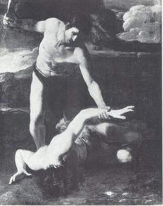 Kaïn doodt Abel