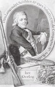Portret van Dirk Langendijk (1748-1805)