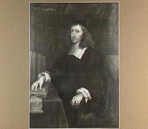 Portret van Sir William Dugdale