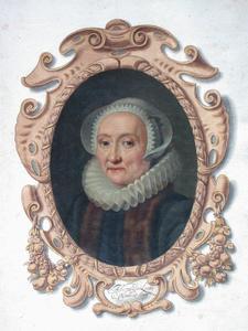 Portret van Alida van der Laen (1542-1626)