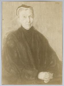 Portret van Baronesse Douairiere de Vos van Steenwijk