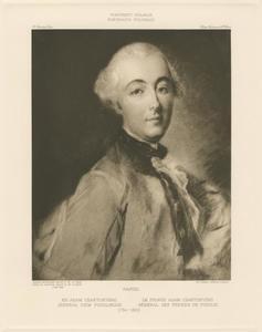 Portret van prins Adam Casimir Czartoryski (1734-1823)