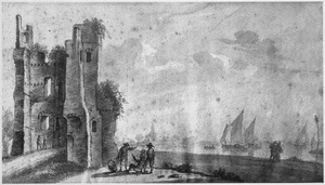 Ruïne van Huis te Merwede bij Dordrecht