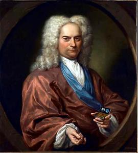 Portret van David Leeuw (1682-1755)