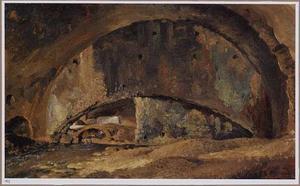 De stallen van de villa van Maecenas te Tivoli