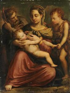Heilige Familie met Johannes de Doper als kind