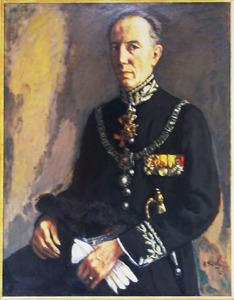 Portret van Willem Michiels Van Kessenich (1902-1992)
