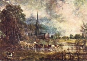 Oversteek door de rivier de Avon