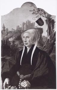 Portret van Emme 't Hoen van Souburgh (..-1563)