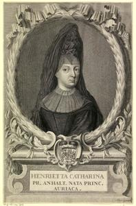 Portret van Henriette Catharina van Oranje-Nassau (1637-1708)