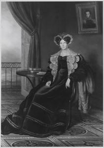 Portret van koningin Wilhelmina, prinses van Pruisen (1774-1837)