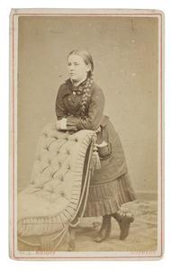 Portret van Clara Peggy van de Poll (1864-1956)