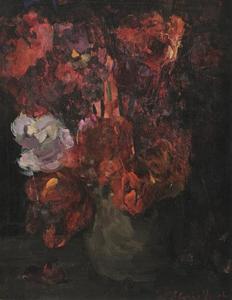 Donkere tulpen