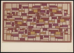 Kleurontwerp voor Glas-in-loodcompositie V