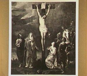 Christus stervend aan het kruis