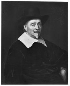Portret van Samuel Bloemaert (1583-1654)