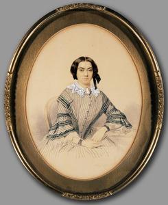 Portret van Hendrika Salm (1829-1921)